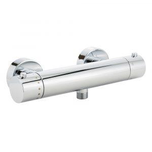 Gruppo doccia esterno senza kit doccia, ½, termostato