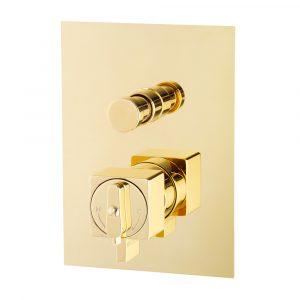 Miscelatore doccia da incasso 2 vie con deviatore, termostato