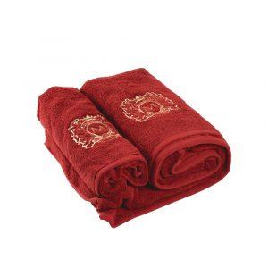 Towel Dolce Bagno Bordo