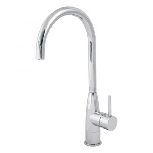 Sink mixer with movable spout