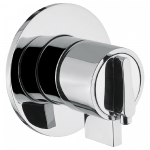 Built-in shower mixer, thermostatic