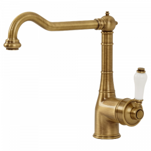 Sink mixer with movable spout Ermitage
