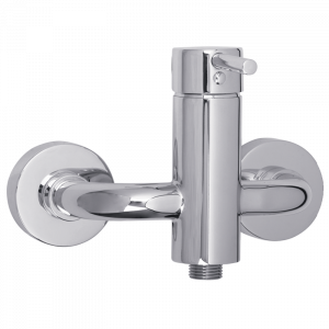Exposed shower mixer, ½