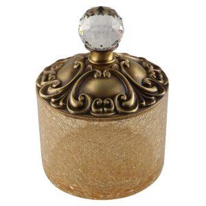 Barattolo porta cotone, H9 cm, Cristalia