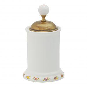 Barattolo porta cotone, H14 cm, Provance