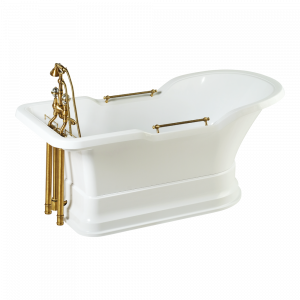Bathtub Impero Podium white