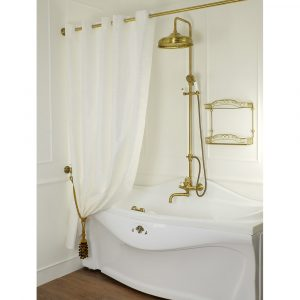 Curtain for bath and shower