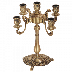 Candelabrum, 5 candles