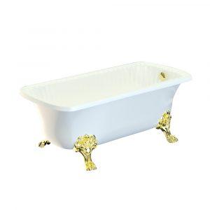 Vasca da bagno, zampe «Migliore»