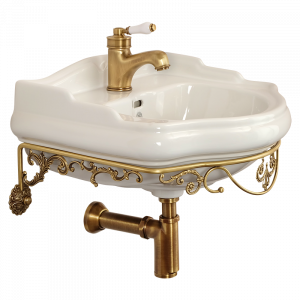 Washbasin console wall hung