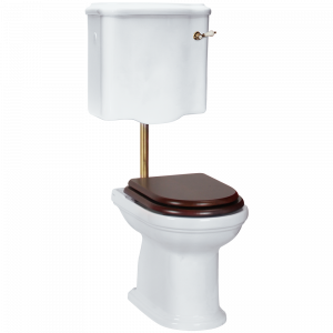 WC low level cistern with lever, Flavia