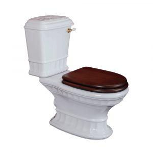 WC monoblock with lever, Gianeta