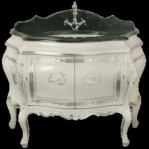 Washbasin furniture, marble top, washbasin, Juliana