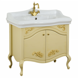 Base for washbasin, L90 cm, Impero