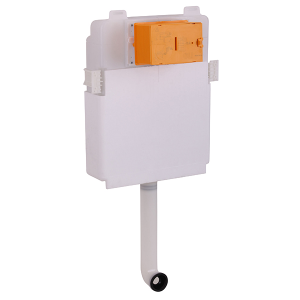 Better Bac Wall-mounted cistern for wc without plate