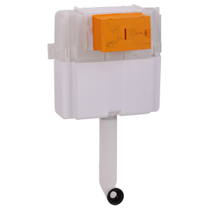 Expert Bac Wall-mounted cistern for wc without plate
