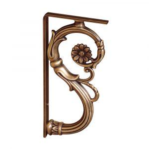 Angle bracket for decoration, Gianeta