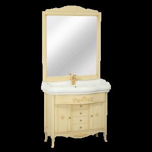 Washbasin furniture, mirror, washbasin, Bella