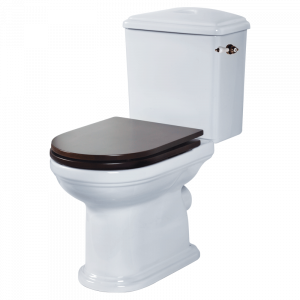 WC monoblock with lever