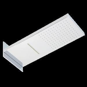 Overhead shower, 550×230 mm