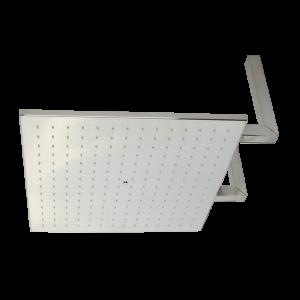 Overhead shower PARIGI, 500×500 mm