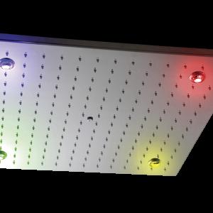 Soffione LIVORNO, 500×500 mm