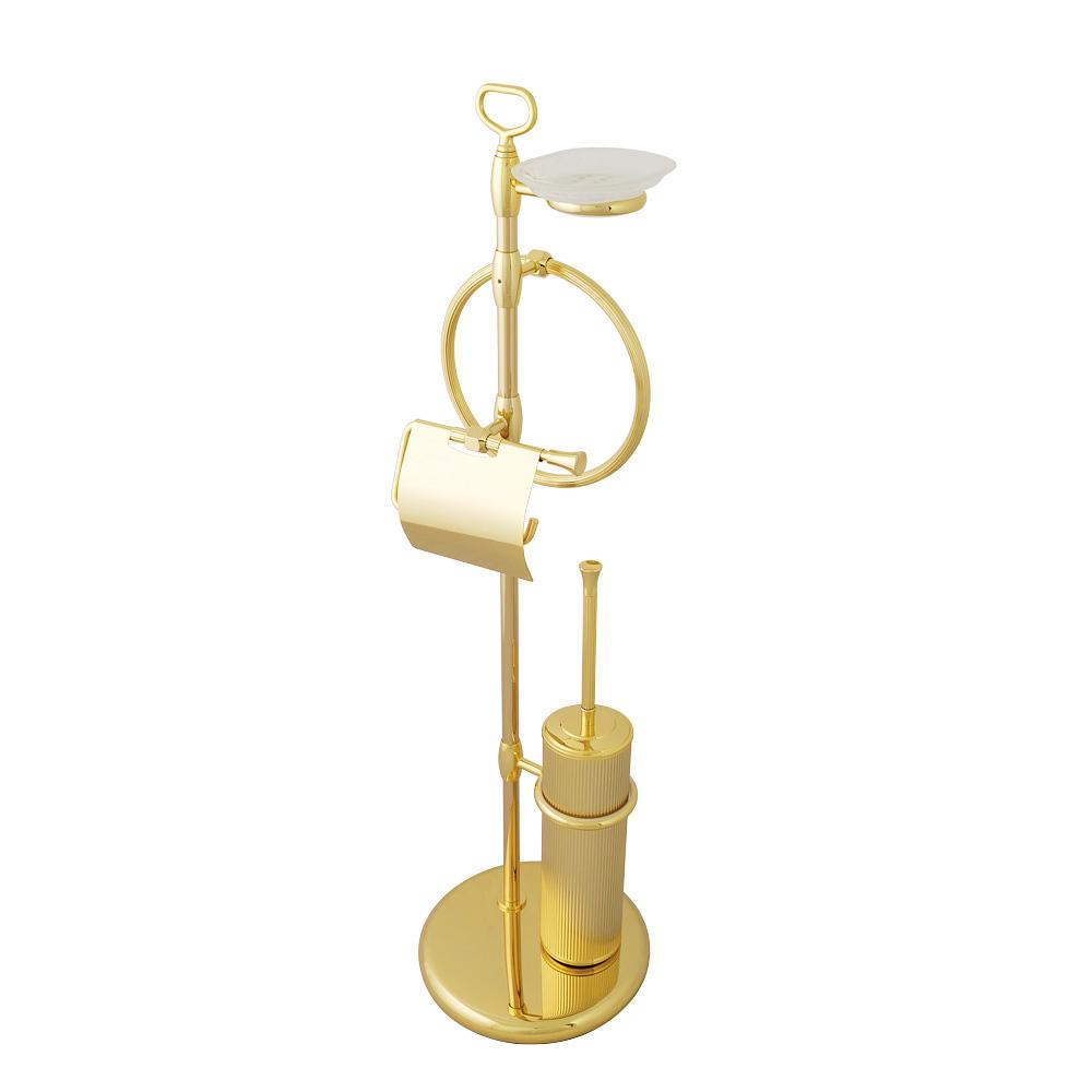Стойка для WC и биде 4-х функциональная, H84 cm, керамика, Fortuna