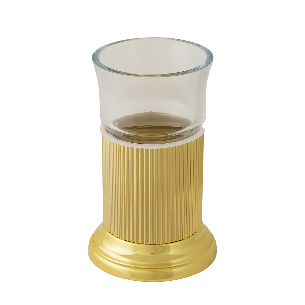 Стакан настольный, стекло прозрачное, Fortuna