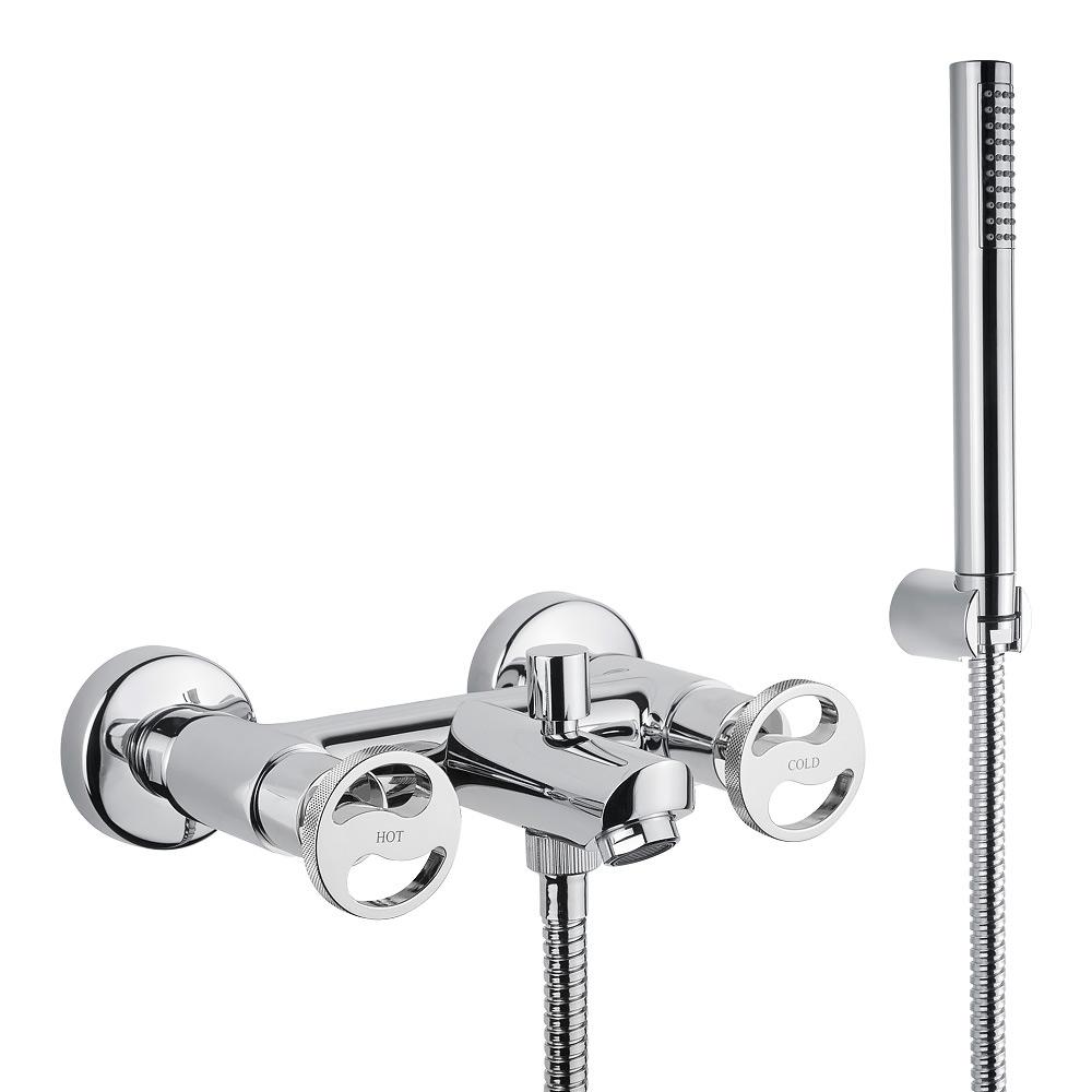 Смеситель для ванны, с ручным душем, Reversa