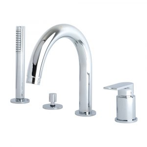 Bathtub set with pull-out hand shower, Tenesi