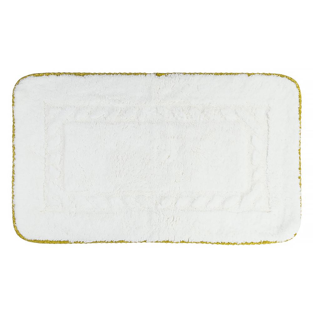 Коврик для ванной комнаты, 60X60 cm, узор #2, тесьма «золото»