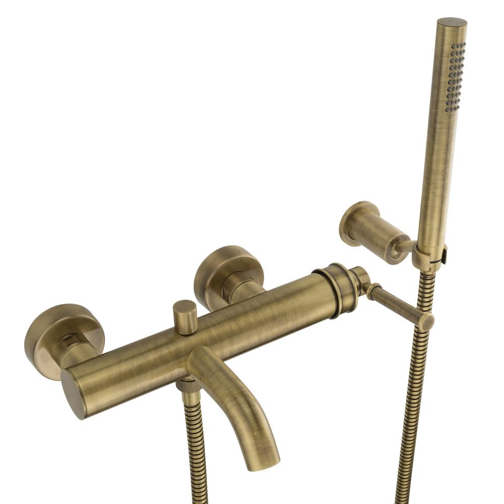 Смеситель для ванны, Ermitage Mini, ручка: латунь