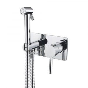 Mixer da incasso con doccia igienica