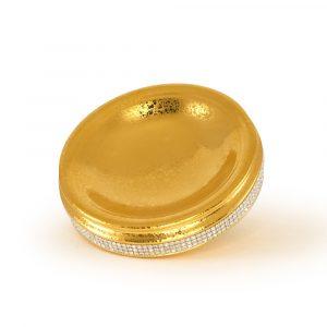 The dish, Gold, Swarovski