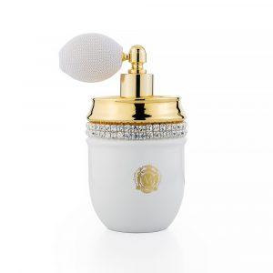 The perfume bottle, Gold, Swarovski