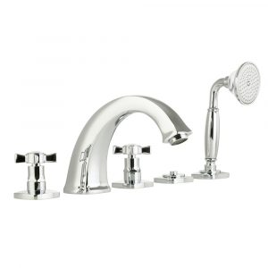 Bathtub set with pull-out hand shower