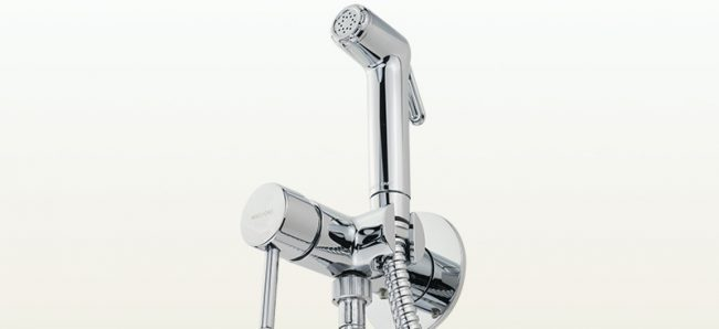 New! Hygienic shower with mixer in the Fortis series