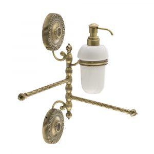 Portasalviette doppio girevole, dispenser, Ceramica